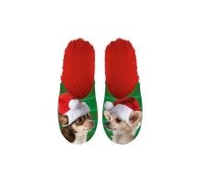 Merry Pets Kerst Pantoffels Hond