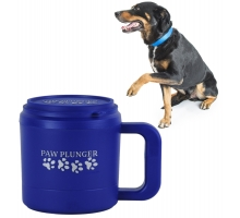 Paw Plunger blauw medium