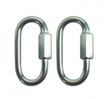 Back Zoo Nature Quicklink RVS 3mm 2 Stuks
