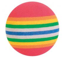 Trixie Set Regenboog Ballen ø 4 cm 4 stuks