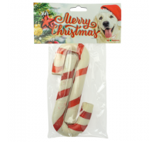 K9 Santa's Candy Cane Duo