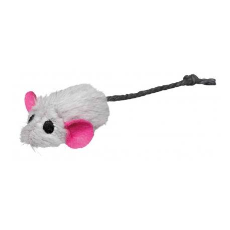 Trixie Set Pluche Muizen met Catnip kern 5 cm 6 stuks