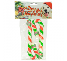 K9 Santa's Twisted Candy Cane Duo