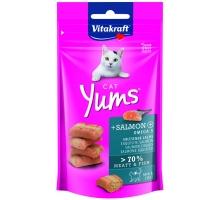 Vitakraft Cat Yums Zalm - kattensnoepjes