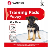 Flamingo Puppy Training Mat L 50st