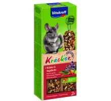 Vitakraft kruiden-kräcker chinchilla 2in1