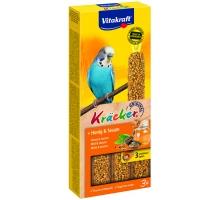 Vitakraft Kracker Parkiet Honing en Sesam 3 stuks