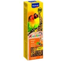 Vitakraft Kracker Agaporniden Honing en Sesam 2 stuks