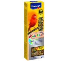 Vitakraft Kracker Kanarie Feather care (Rui) 2 stuks