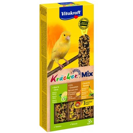 Vitakraft Kracker kanarie Trio mix groen