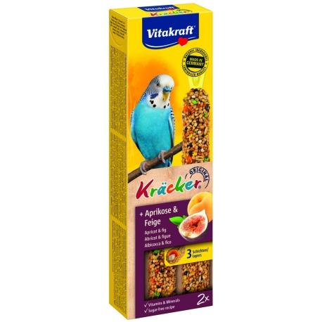 Vitakraft Kracker Parkiet Abrikoos en Vijg 2 stuks