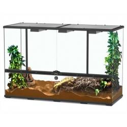 Aquatlantis Terrarium Zwart-001 118x45x75 cm