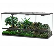 Aquatlantis Terrarium Zwart-001 132x45x60 cm