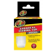 Zoo Med Arboreal Feeding Cup Refill 12 Pack