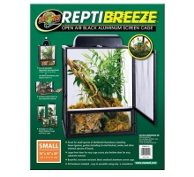 Zoo Med ReptiBreeze Alum Screen Cage Small