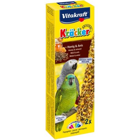 Vitakraft Kracker Papegaai Honing en Anijs 2 stuks