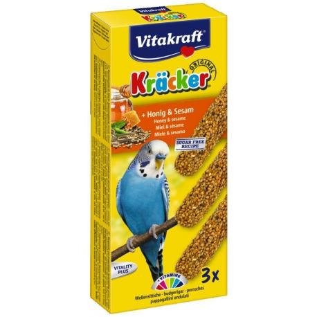 Vitakraft Kracker Parkiet Honing en Sesam 2 stuks
