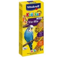 Vitakraft kracker Parkiet Trio-Mix Paars 3 stuks