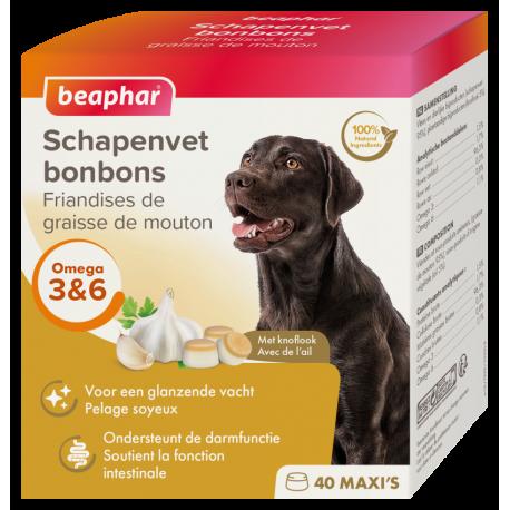Beaphar Schapenvet Bonbons - Knoflook 245 gram