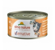 Almo Nature Alternative Gegrilde Kalkoen 6 x 70 gr