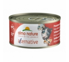 Almo Nature Alternative Ham met Kalkoen 6 x 70 gr