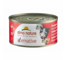 Almo Nature Alternative Ham met Parmeza 6 x 70 gr