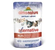 Almo Nature Alternative Kippenborst 6 x 55 gr