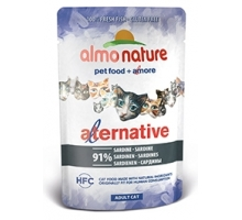 Almo Nature Alternative Sardientjes 6 x 55 gr