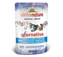 Almo Nature Alternative Tonijn Atltic 6 x 55 gr