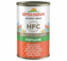 Almo Nature Blik Kip met Pompoen 6 x 140 gram