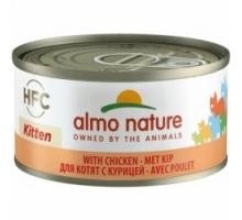 Almo Nature Kitten Kip 6 x 70 gr