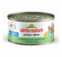 Almo Nature Light Kip met Aloë 6 x 70 gr