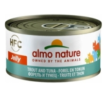 Almo Nature Tonijn met Forel 6 x 70 gr