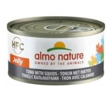 Almo Nature Tonijn met Inktvis 6 x 70 gr