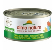 Almo Nature Tonijn met Mais 6 x 70 gr