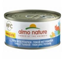 Almo Nature Tonijn met Pompoen Gravrij 6 x 70 gr