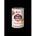 Brit Fresh Beef with Pumpkin 400 gram