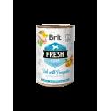 Brit Fresh Fish with Pumpkin 400 gram