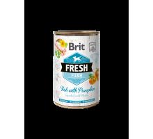 Brit Fresh Fish with Pumpkin 400gr