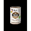 Brit Fresh Turkey with Peas 400 gram