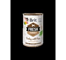 Brit Fresh Turkey with Peas 400gr
