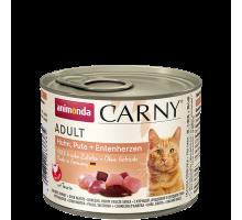 Animonda Carny Kip/Kalkoen/Eendenhart 6 x 200 gr