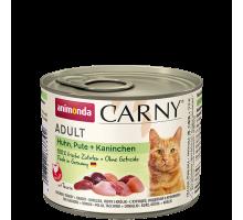Animonda Carny Kip/Kalkoen/Konijn 6 x 200 gr