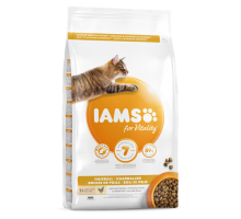 Iams Cat Adult Hairball Control Chicken 3 kg