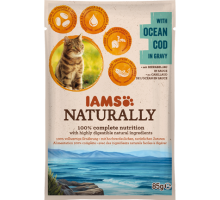 Iams Naturally Cat Adult Natural Cod In Gravy 85 gr