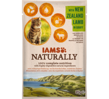 Iams Naturally Cat Adult New Sealand Lamb In Gravy 85 gr