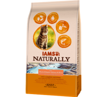 Iams Naturally Cat Adult North Atlantic Salmon&Ric 2,7 kg