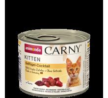 Animonda Carny Kitten Gevogelte Mix 6 x 200 gr
