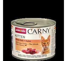 Animonda Carny Kitten Rund/Kalf/Kip 6 x 200 gr