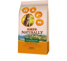 Iams Naturally Cat Adult New Sealand Lamb&Rice 2,7 kg